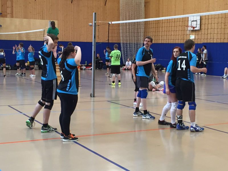 CVJM Volleyball Open Air Hallenfeld